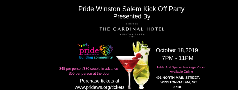 Pride Winston Salem Kick Off Party